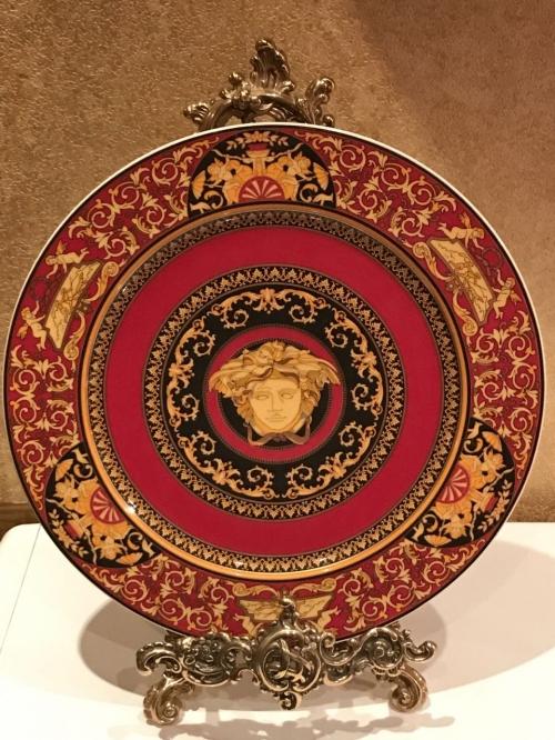 Тарелка Versace Medusa 31см