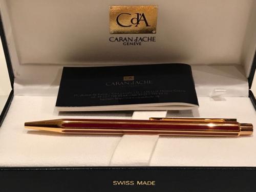 Ручка Caran d'Ache Hexagonal Chinese Laquer