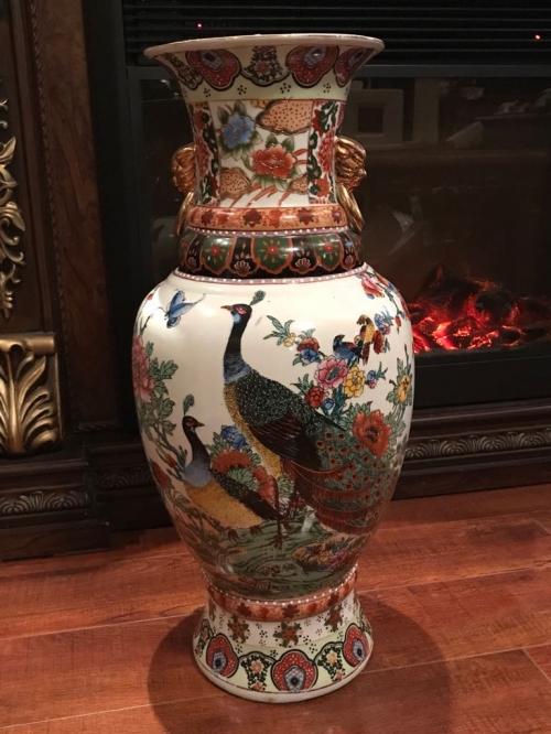 Китайская ваза старинная 60см