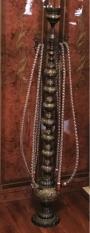 Ваза антикварная напольная латунь гравировка