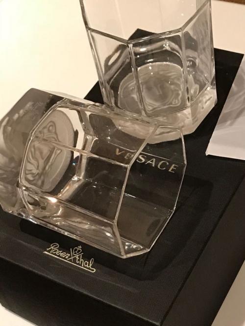 Набор бокалов для виски Versace Rosenthal Lumiere