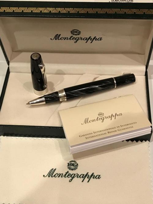 Ручка Montegrappa Classica Charcoal Resin