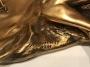 Пепельница скульптурная бронзовая