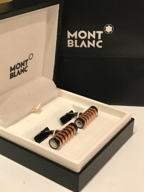 Запонки Montblanc Contemporary