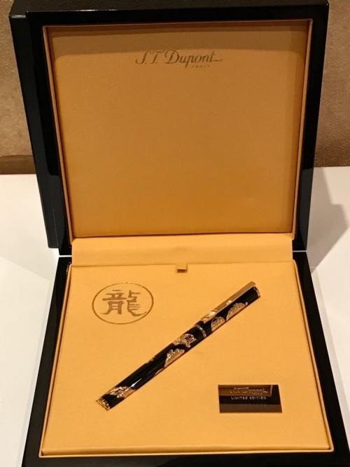 Ручка перьевая Dragon S.T. Dupont