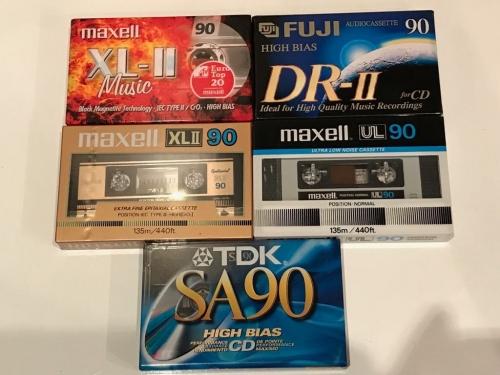 Аудиокассеты лот из 5 шт