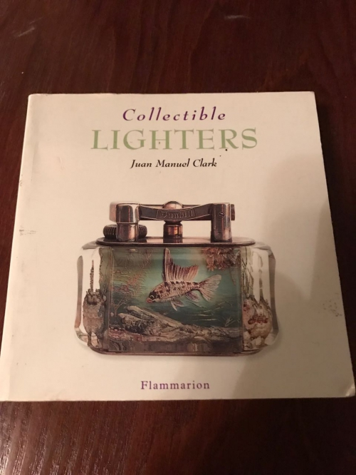 Книга о редких коллекционных зажигалках