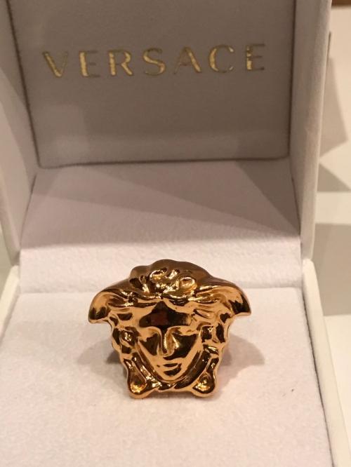 Кольцо versace medusa оригинал Версаче