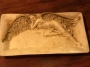 Блюдо большое керамическое антикварное