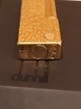 Зажигалка Dunhill позолоченная