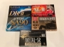 Комплект аудиокассет Sony, TDK, Maxell, Fuji